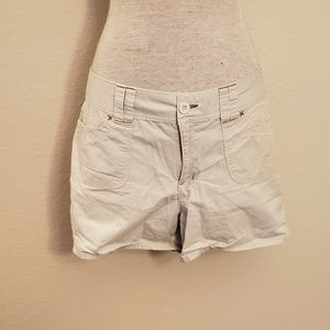 Cato beige cream shorts 14